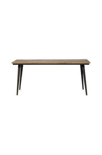 BePureHome Ruokapöytä Guild 220x90  - Luonto / mustat jalat