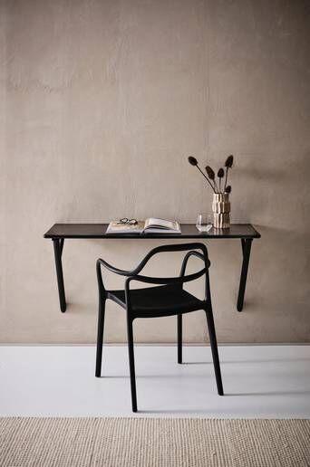 Jotex KULLABERG kirjoituspöytä/pöytä 40x120 cm  - Musta