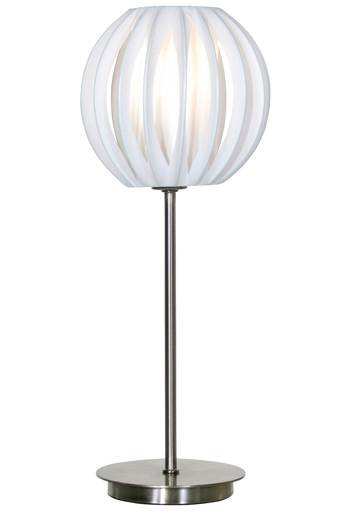 Globen lighting Pöytävalaisin Plastband  - Valkoinen