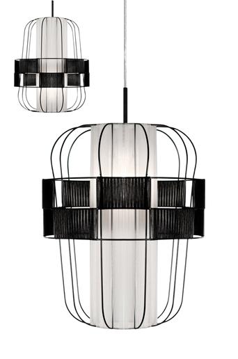 Globen lighting Kattovalaisin  - Musta/valkoinen