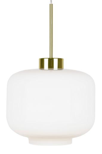 Globen lighting Ritz kattovalaisin  - Valkoinen/messinginvärinen