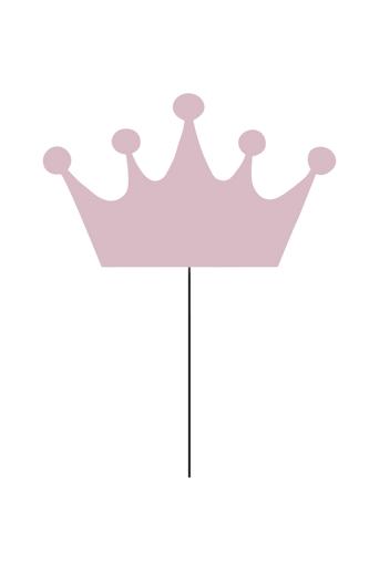 Globen lighting Crown Rosa seinävalaisin  - Roosa