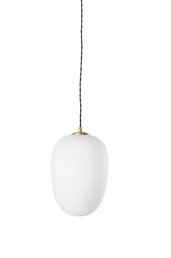 Globen lighting Divine-kattovalaisin  - Valkoinen/harjattu messinki