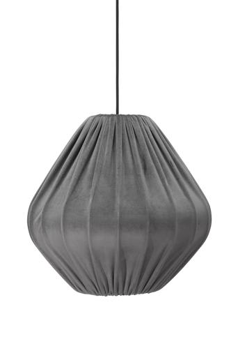 PR Home Malou varjostin kattovalaisimeen samettia 50 cm  - Harmaa