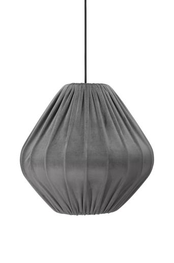 PR Home Malou varjostin kattovalaisimeen samettia 40 cm  - Harmaa