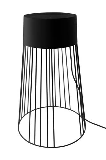 Globen lighting Lattiavalaisin Koster 60 cm  - Musta