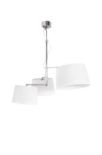 By Rydéns Kattovalaisin TRIPLE, 98 cm  - Krominvärinen/valkoinen
