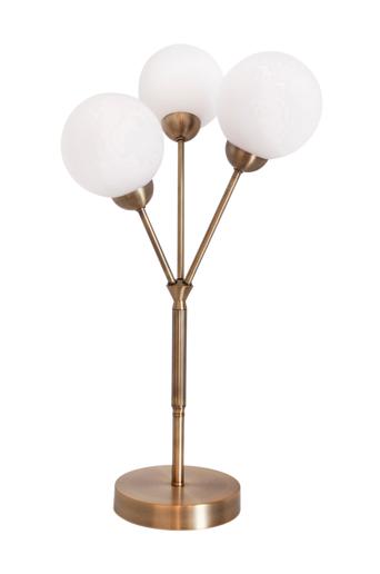 By Rydéns Pöytävalaisin 3Some, 3 lamppua  - Antiikkikullanväri
