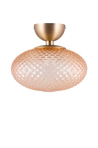 Globen lighting Plafondi Jackson  - Amber/borstad mässing