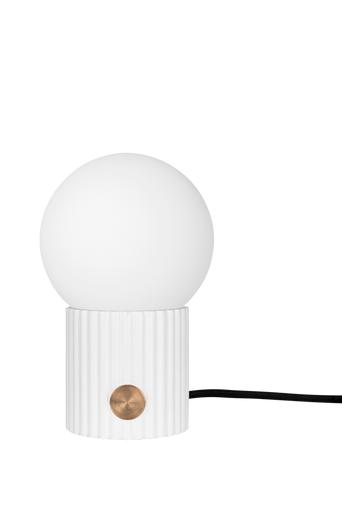 Globen lighting Pöytävalaisin Hubble Small  - Valkoinen
