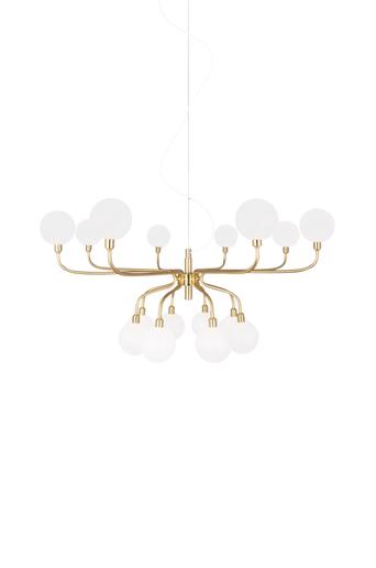 Globen lighting Kattovalaisin Mandrino  - Harjattu messinki