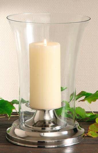 AG Home & Light Kynttilälyhty Delight, korkeus 28 cm  - Silver