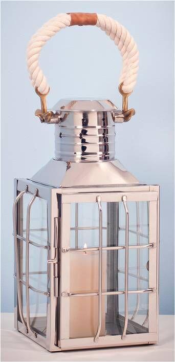 AG Home & Light Kynttilälyhty Manchester, korkeus 43 cm  - Silver