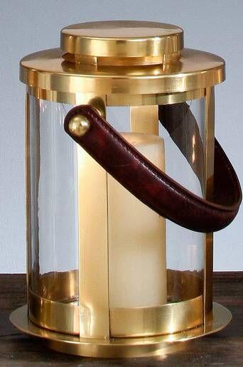 AG Home & Light Kynttilälyhty Frankfurt korkeus 27 cm, pyöreä  - Pronssinvärinen