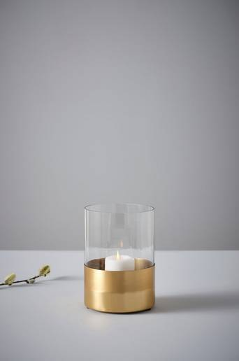Jotex PAUL kynttilälyhty  - Kulta