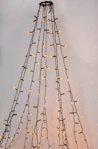 Star Trading GOLDEN joulukuusen valosarja LED  - K30-green