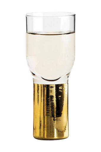 Sagaform Snapsi- ja shottilasit Club 2 cl, 2/pakk.  - Gold/Glass