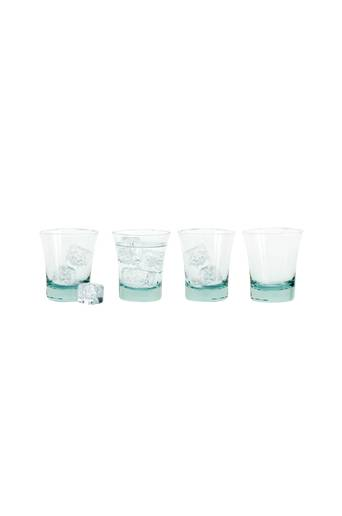 Sagaform Eco lasit, 4/pakk.  - Green Glass