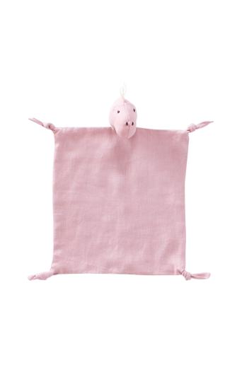 Kids Concept Uniriepu Dino, pellava, roosa