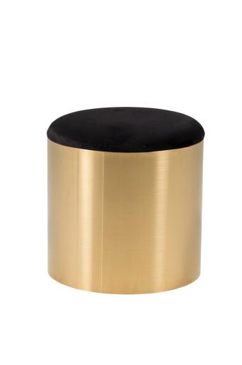 Furniture Fashion Rahi Puff, halkaisija 45 cm  - Musta