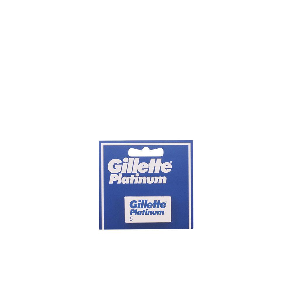 Gillette PLATINUM recambios 5 uds