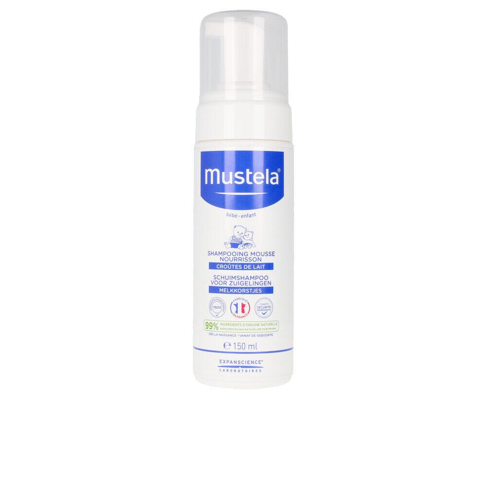Mustela BÉBÉ foam shampoo for newborn normal skin  150 ml