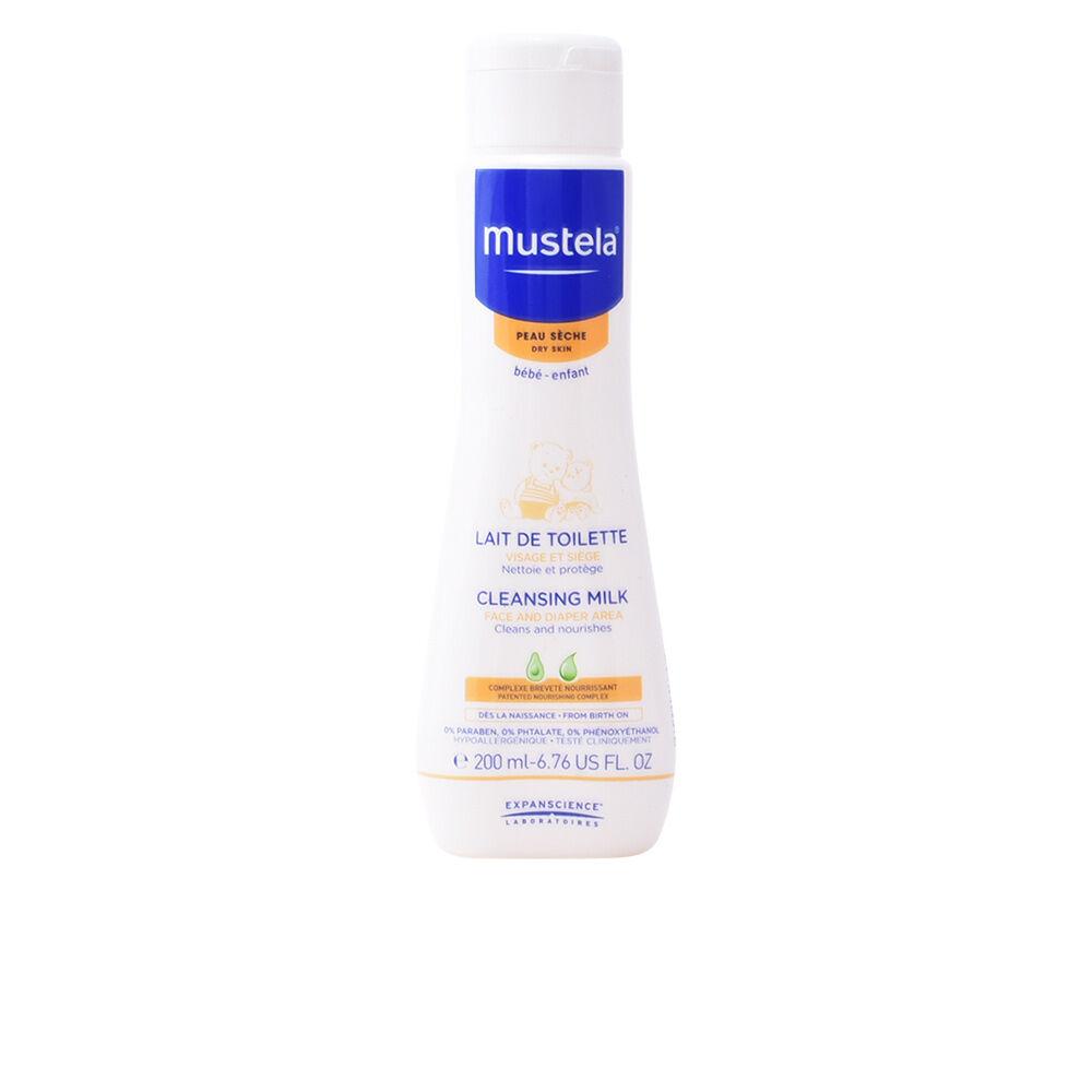 Mustela BÉBÉ cleansing milk dry skin  200 ml