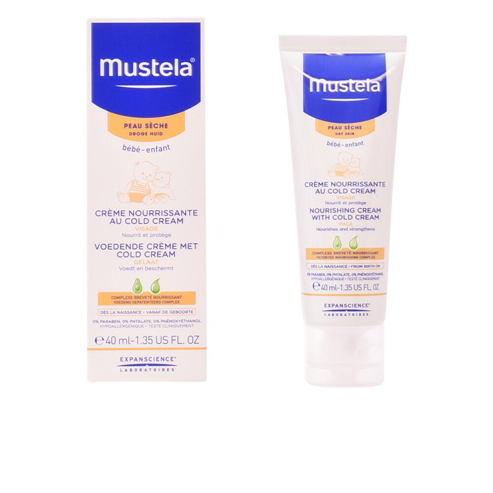 Mustela BÉBÉ nourishing face cream with cold cream dri skin  40 ml