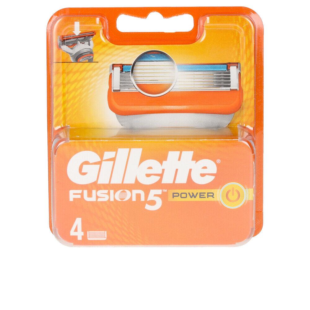 Gillette FUSION 5 POWER cargador 4 recambios