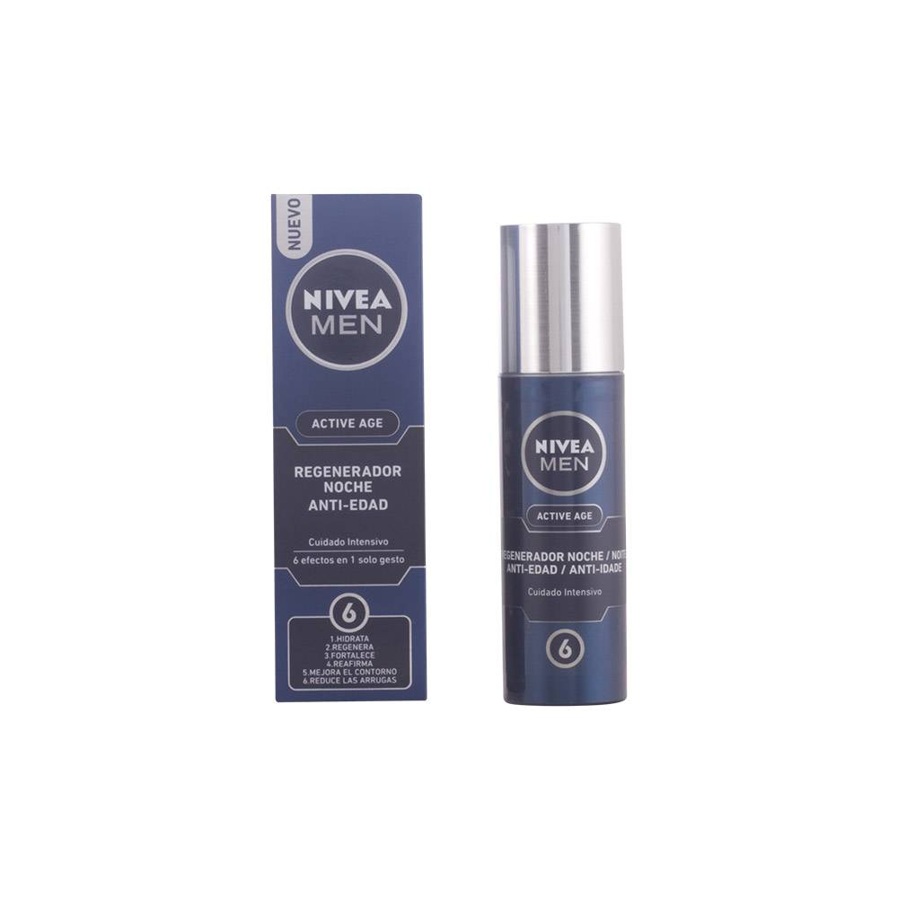 Nivea MEN ACTIVE AGE regenerador anti-edad intensivo noche  50 ml