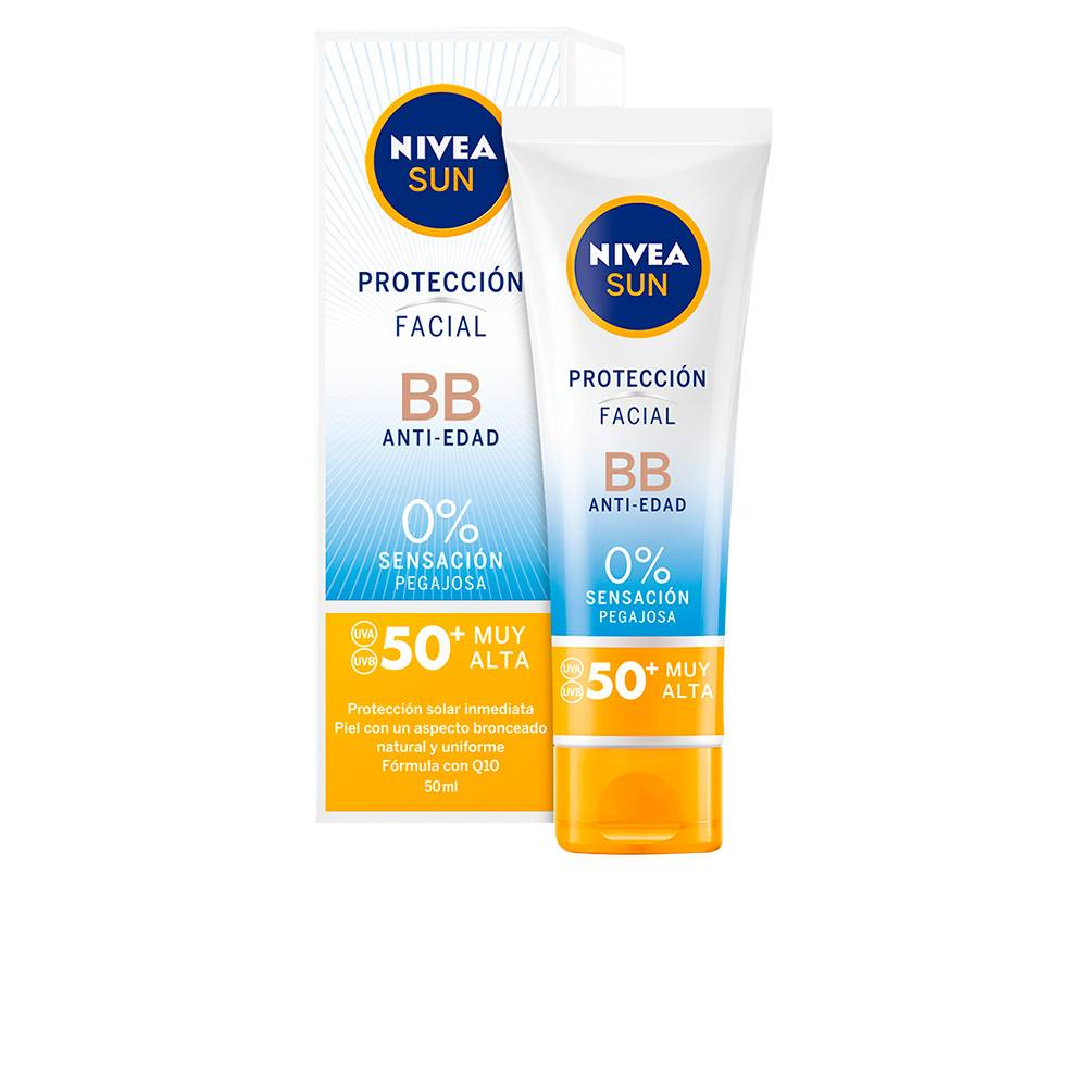 Nivea SUN FACIAL BB anti-edad SPF50+  50 ml