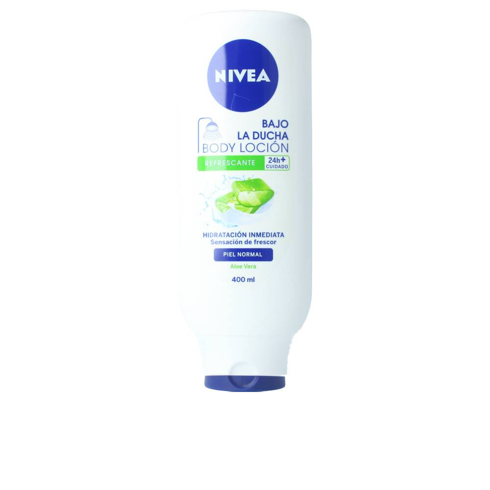 Nivea BAJO LA DUCHA body lotion piel normal  400 ml