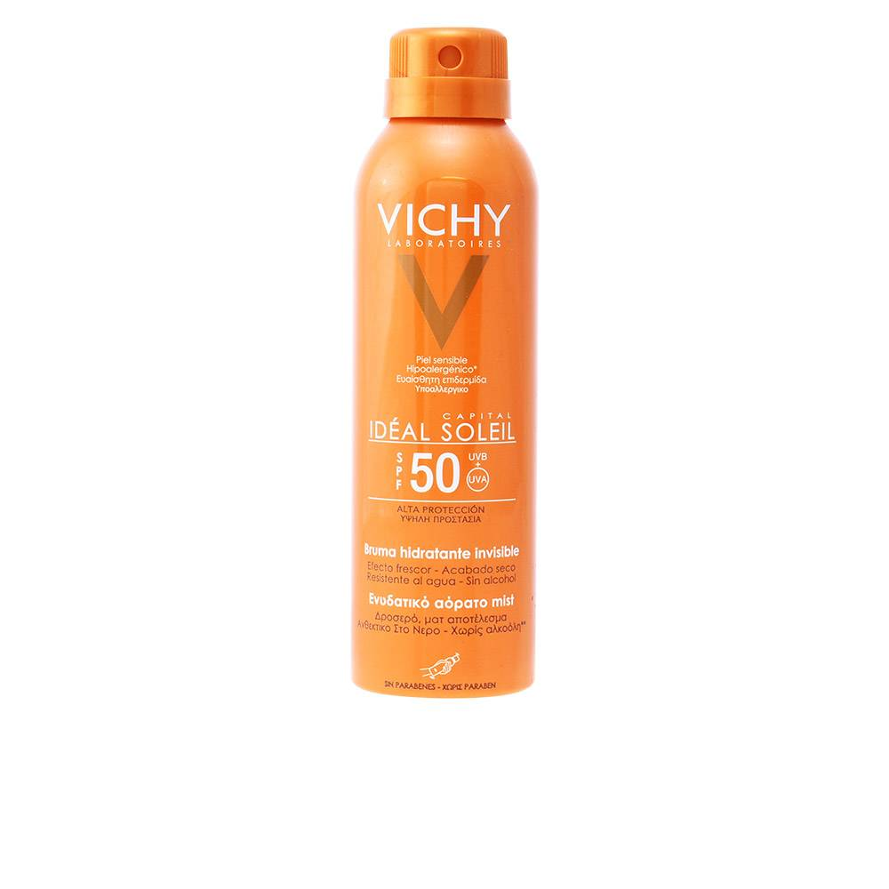 Vichy CAPITAL SOLEIL brume hydratante invisible SPF50  200 ml