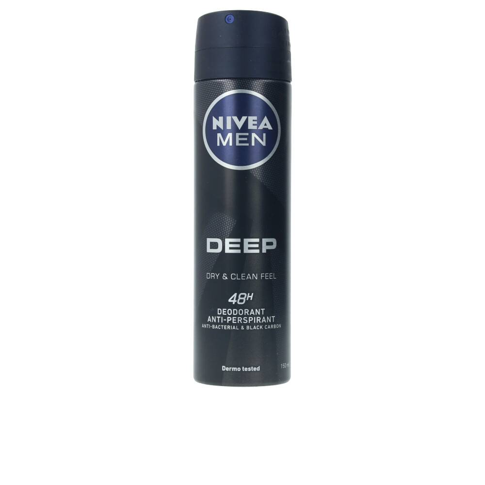 Nivea MEN DEEP BLACK CARBON deo spray  150 ml