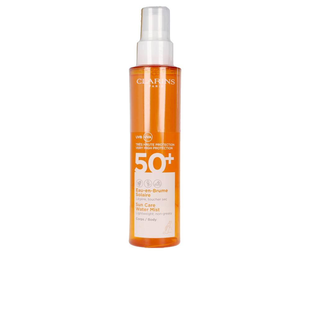 Clarins SOLAIRE eau en brume corps SPF50+ spray  150 ml