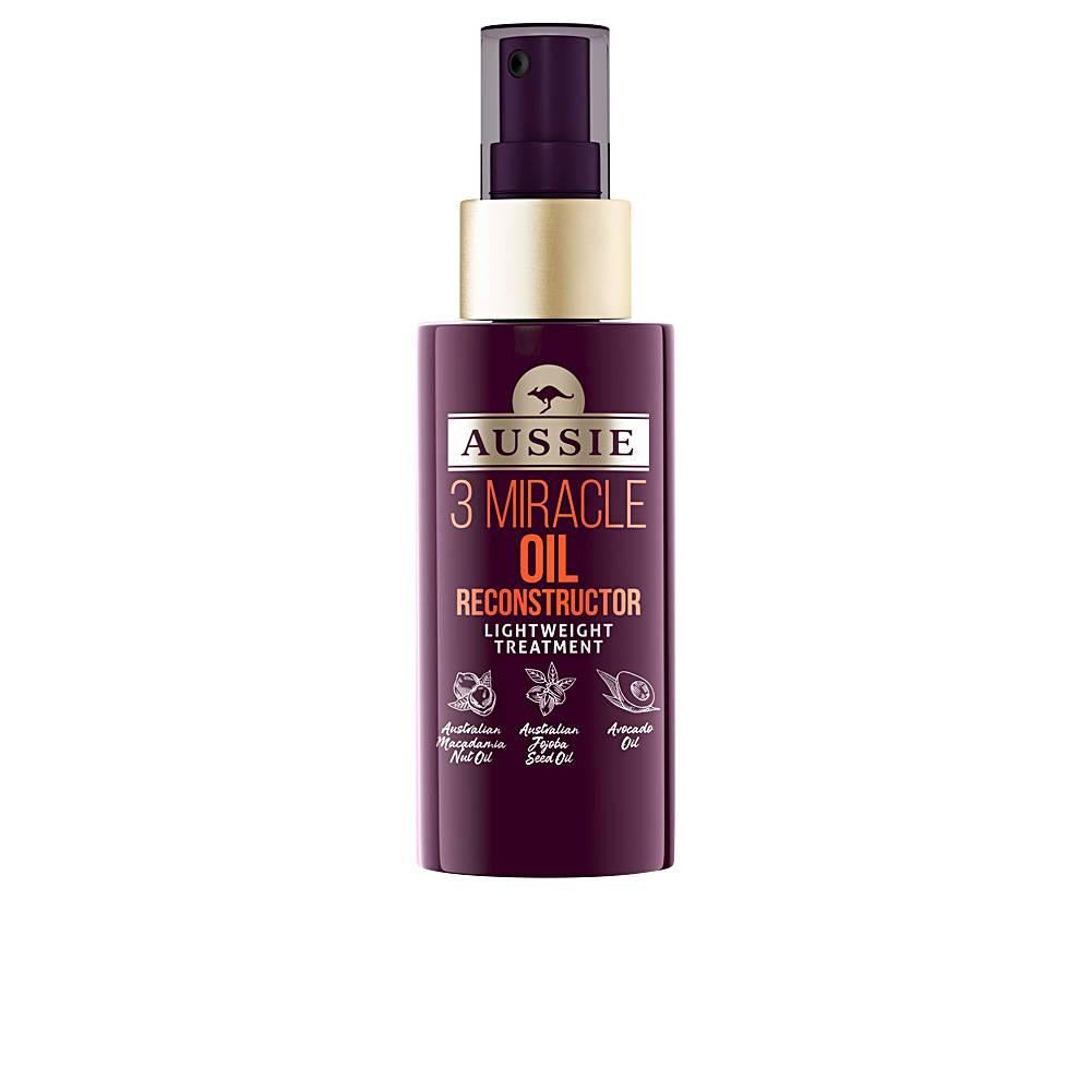 Aussie 3 MIRACLE OIL reconstructor lightweight treatment  100 ml