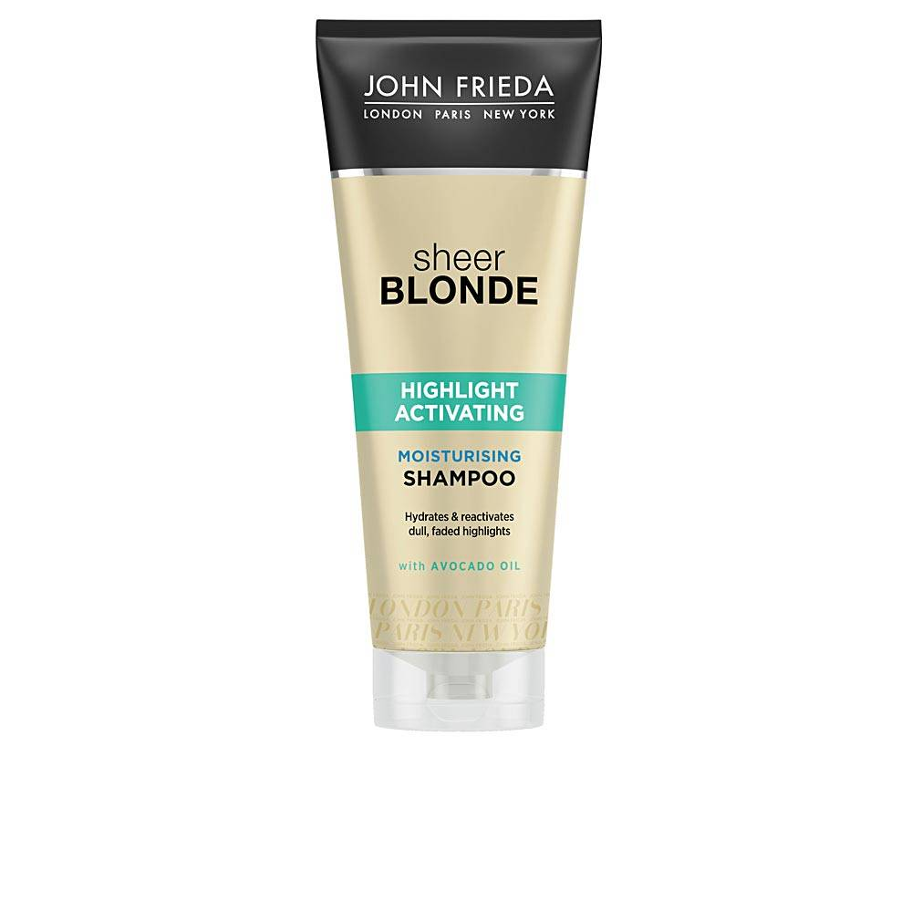 John Frieda SHEER BLONDE champú hidratante blond hair  250 ml