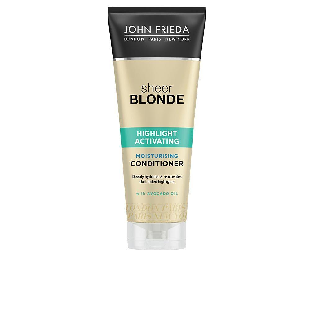 John Frieda SHEER BLONDE acondicionador hidratante blond hair  250 ml