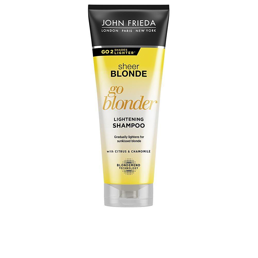 John Frieda SHEER BLONDE champú aclarante blond hair  250 ml