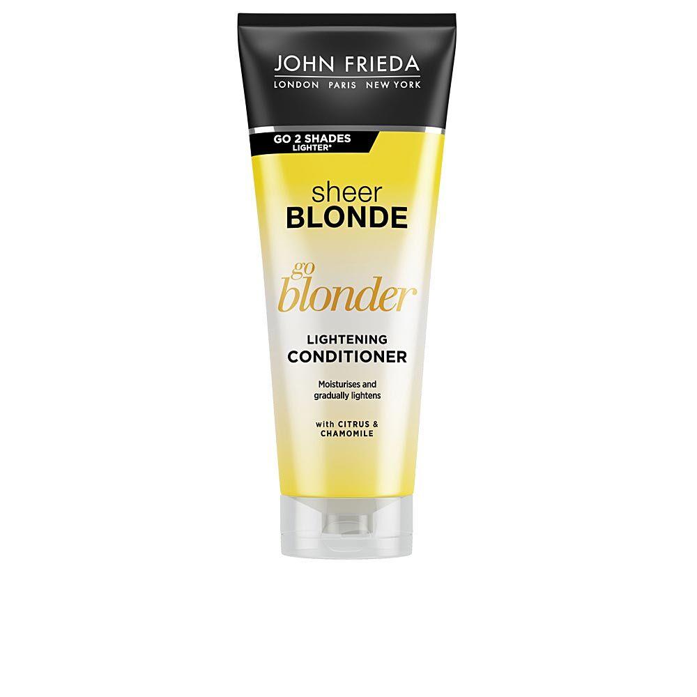 John Frieda SHEER BLONDE acondicionador aclarante blond hair  250 ml
