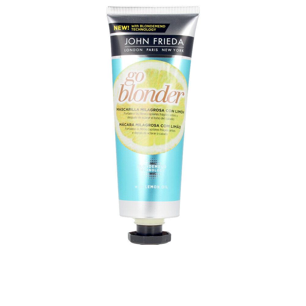 John Frieda GO BLONDER lemon miracle hair mask  100 ml