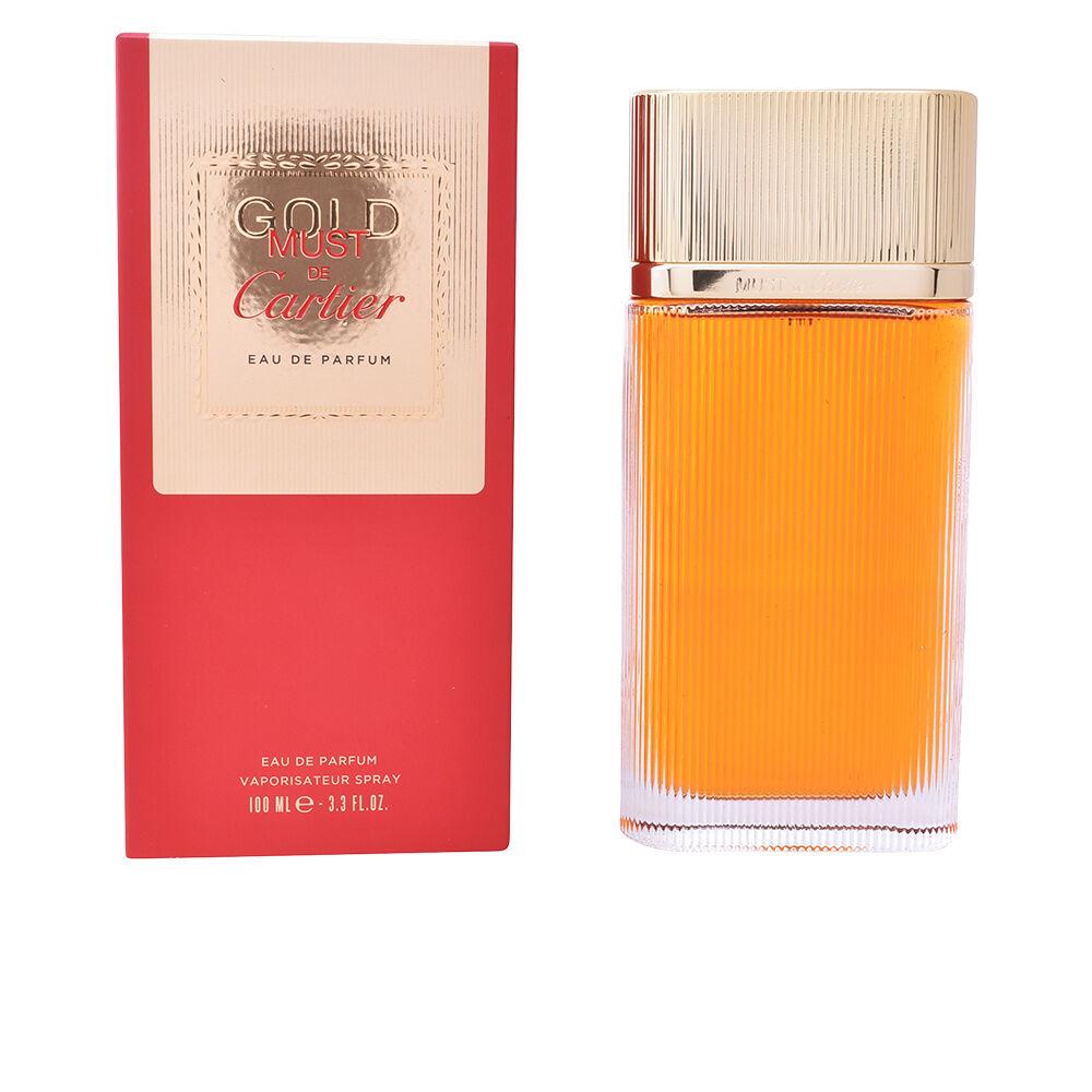 Cartier MUST GOLD edp spray  100 ml