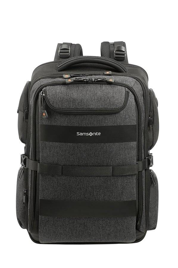 Samsonite Bleisure 17.3 - Business Ryggsäck Expanderbar Svart, Business