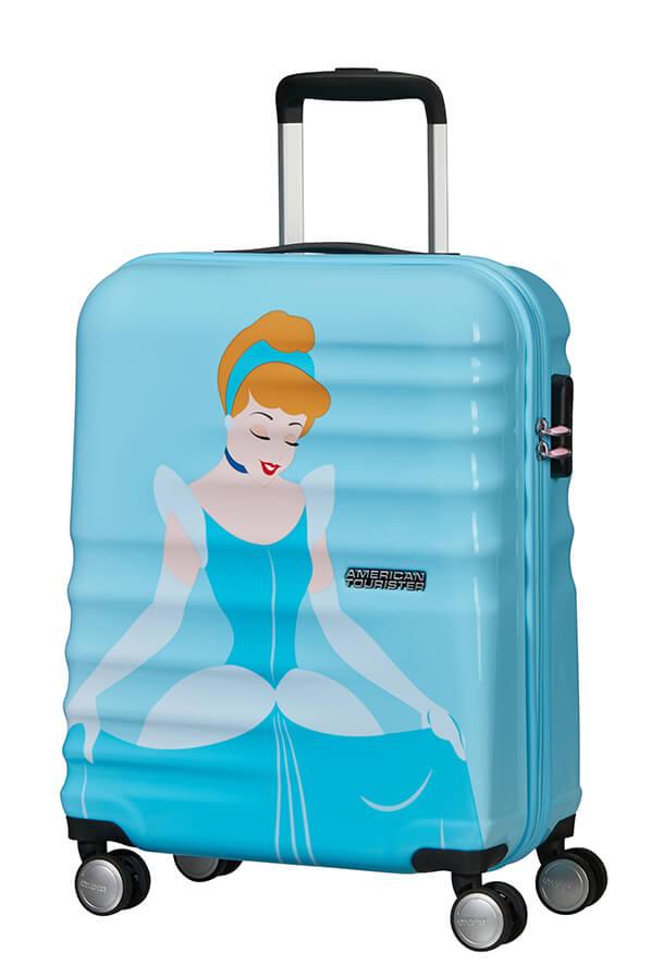 American Tourister Wavebreaker - Lentolaukku Cinderella, Lasten matkalaukku