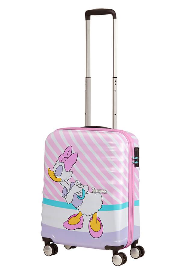 American Tourister Wavebreaker - Lentolaukku Daisy Pink Kiss, Lasten matkalaukku
