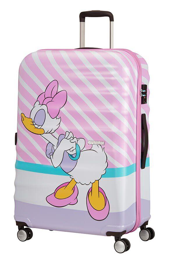 American Tourister Wavebreaker - Iso Daisy Pink Kiss, Lasten matkalaukku