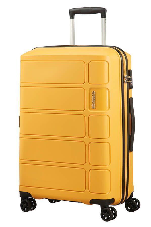 American Tourister Summer Splash 67cm - Keskikokoinen Keltainen, Keskikokoinen