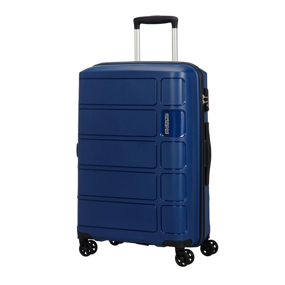 American Tourister Summer Splash 67cm - Keskikokoinen Sininen, Keskikokoinen
