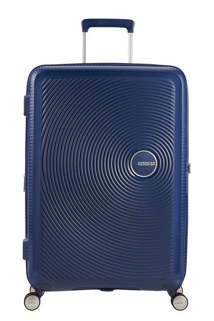 American Tourister Soundbox 67cm - Keskikokoinen Sininen, Keskikokoinen