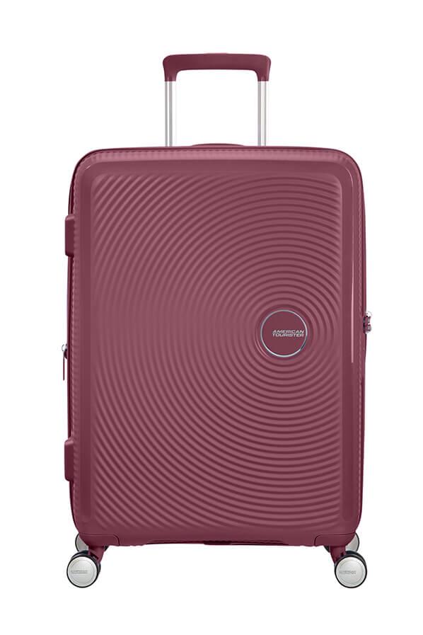 American Tourister Soundbox 67cm - Keskikokoinen Bordeaux Punainen, Keskikokoinen